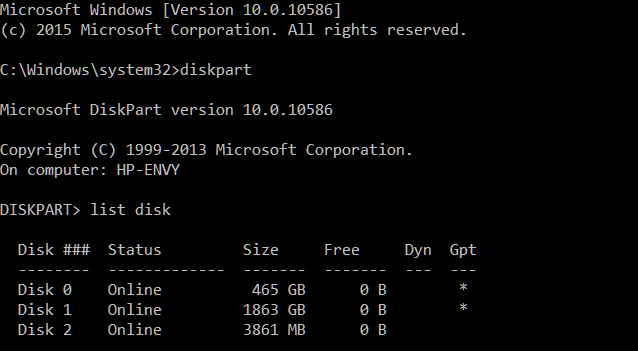 Windows cannot be installed to this disk, but to GPT disks