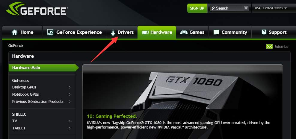 geforce gtx 750 drivers windows 7