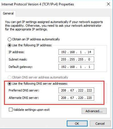 how to get a valid ip configuration for wifi