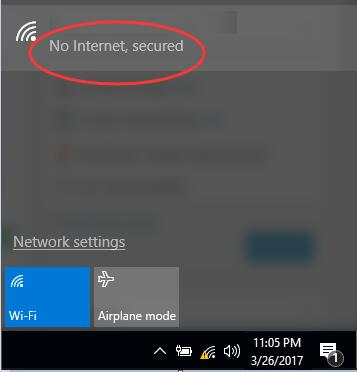 windows 10 internet connection issues