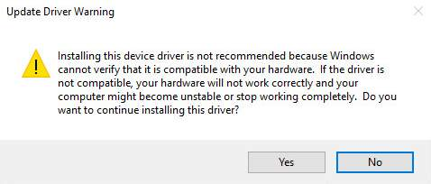 do you need to restart after installing drivers