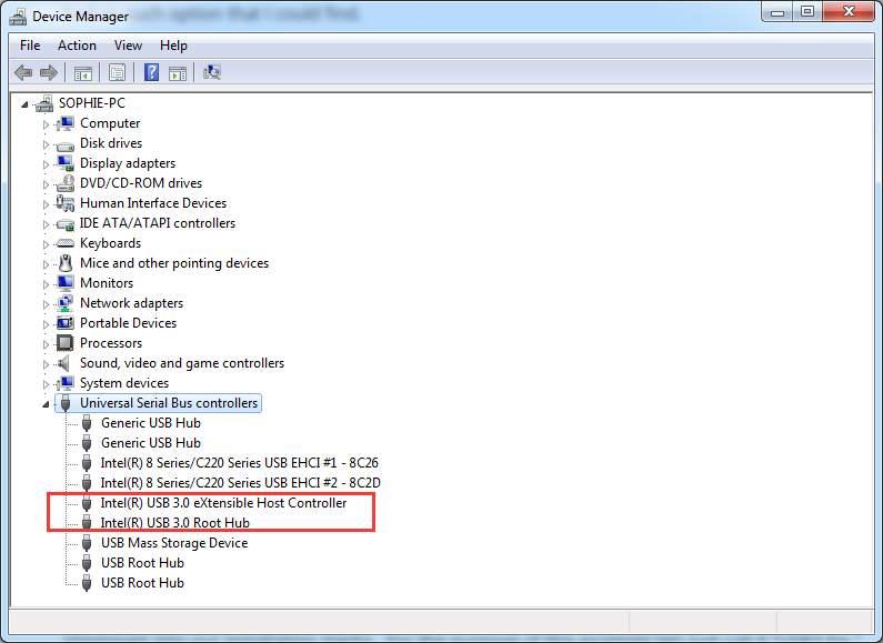 usb 3.0 driver windows 7 64 bit hp intel