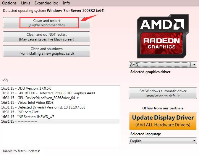 Default Radeon Wattman settings have crashed and been