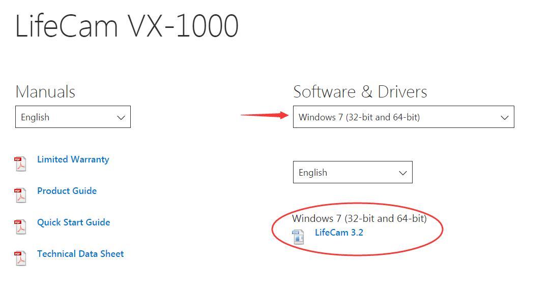 download lifecam vx 1000 driver