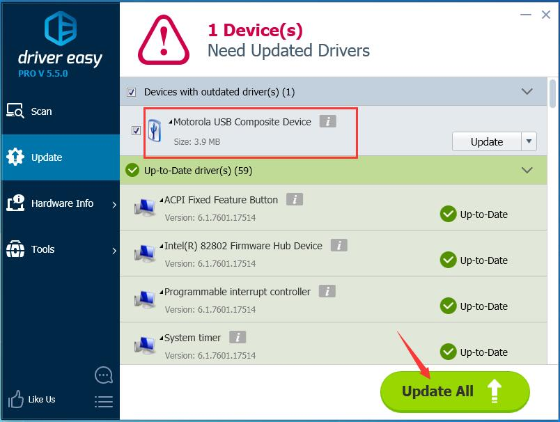 How to Fix USB Composite Device Driver Error [Solved] - Driver Easy