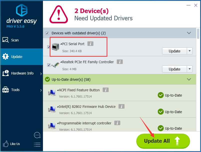 Fix PCI Serial Port Driver Issues on Windows - Driver Easy