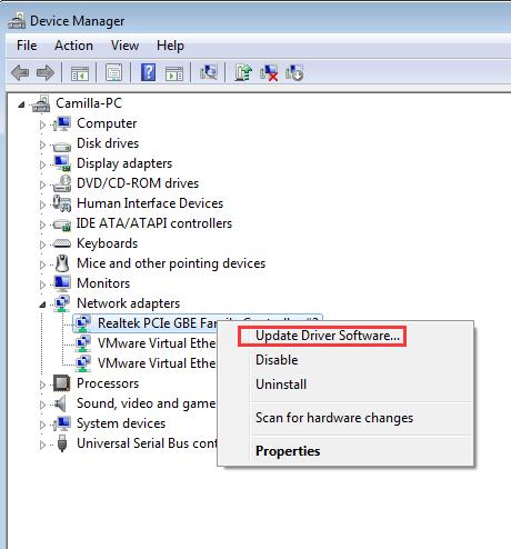 realtek fast ethernet driver download vista