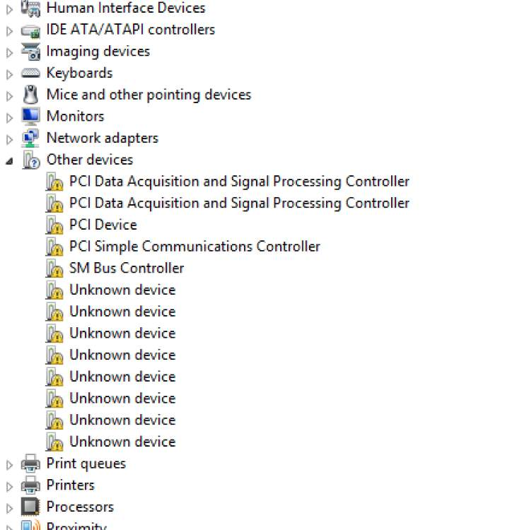 Fix pci serial port driver issues on windows driver easy.