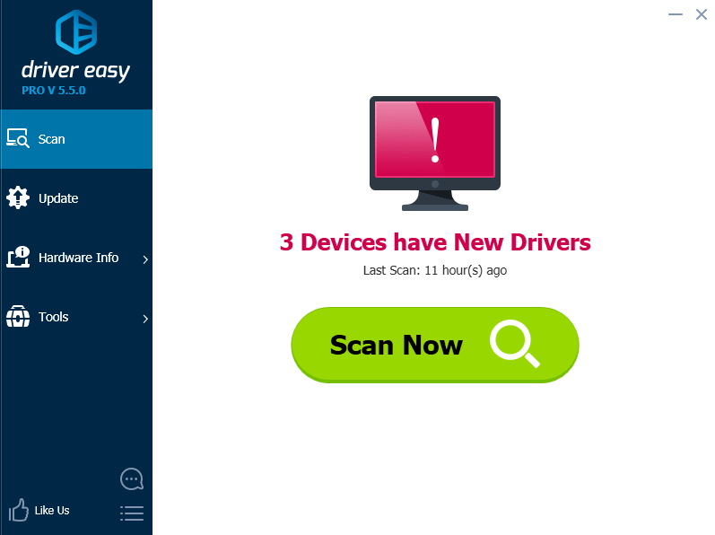 dell driver utility scan