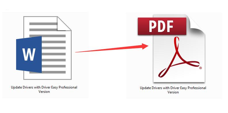 How to Convert Word to PDF Free & Easily [Solved] - Driver Easy