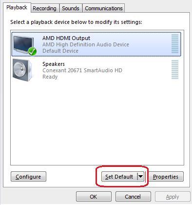 laptop sound to tv hdmi