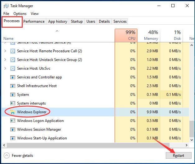 Solved] Windows 10 Taskbar Frozen - Top Effective Ways - Driver Easy
