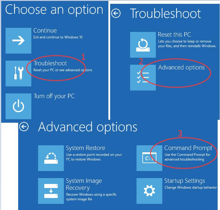 how to get into your computer if you forgot the password windows 10
