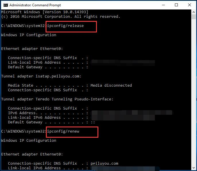 Solved] Windows has detected an IP address conflict - Driver
