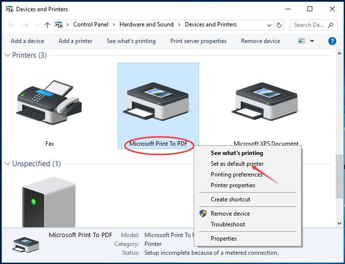 microsoft print to pdf windows 7 download free