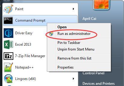 Fix Microsoft Virtual Wifi Miniport Adapter Issue on Windows 7