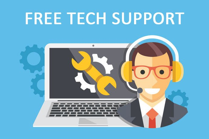 Free Tech Support for Windows problems