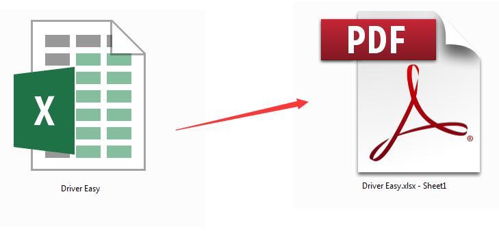 xl to pdf
