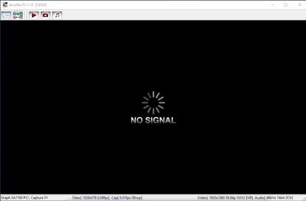 Showing No Signal Cable : Probleme ordinateur acer no signal
