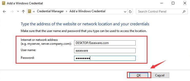 disable windows security credentials windows 10
