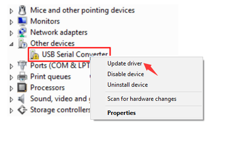 Fix USB Serial Converter Driver Issue [Solved] - Driver Easy