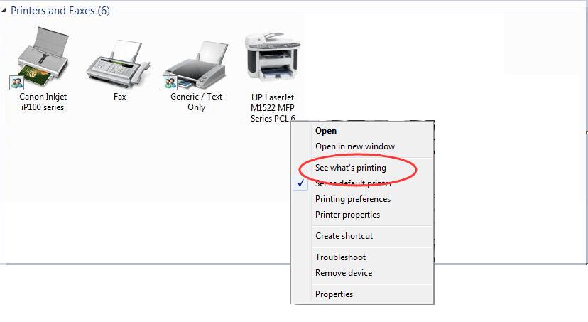brother wifi printer offline windows 7