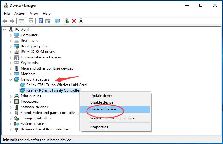 Solved] ERR_NETWORK_CHANGED Chrome Error - Driver Easy