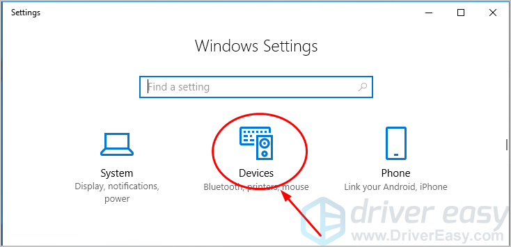 How to turn on bluetooth on windows 10 solved driver easy how to turn on bluetooth on windows 10 ccuart Gallery