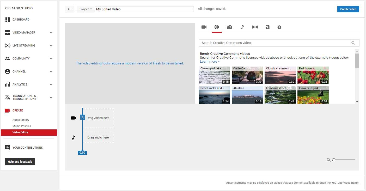 YouTube Video Editor - How to Improve Your Video with Enhancements