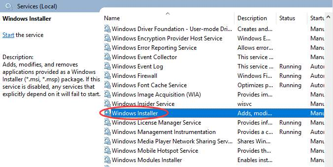 The Windows Installer Service Could Not Be Accessed Error [Fixed