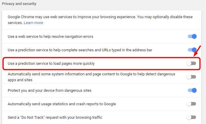high disk usage google chrome