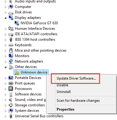 Fix Unknown Device Driver Issues  Easily! - Driver Easy