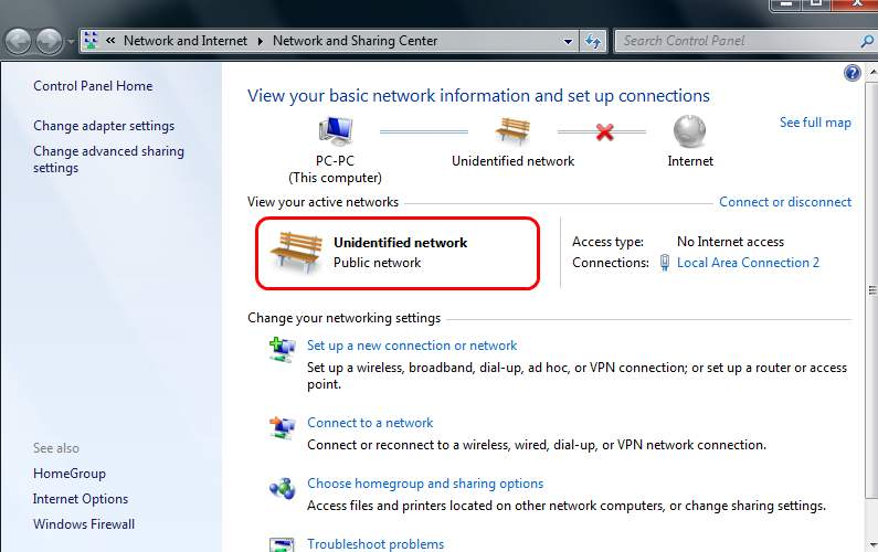 a place to call home setting dial up internet connection setup in windows 7 If you find that you canu0027t connect to your router, and you see  u201cUnidentified networku201c, with the u201cNo Internet accessu201d on the right side in  your network ...