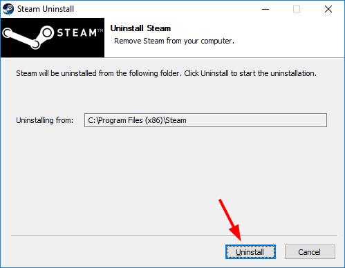 Fix Steam Error: