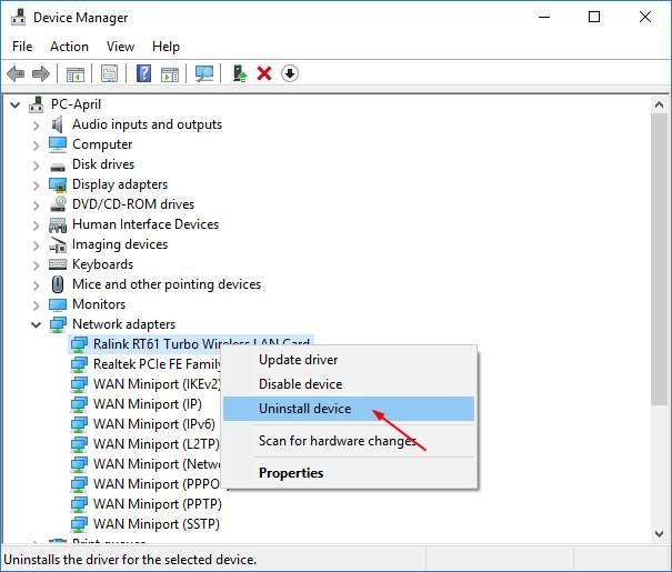 windows 10 disable wifi scan