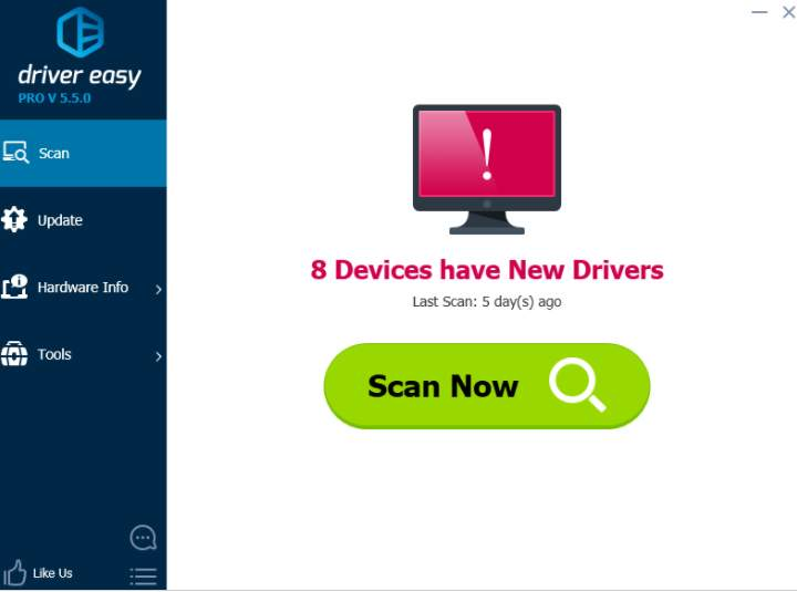 hp drivers update utility license key free download