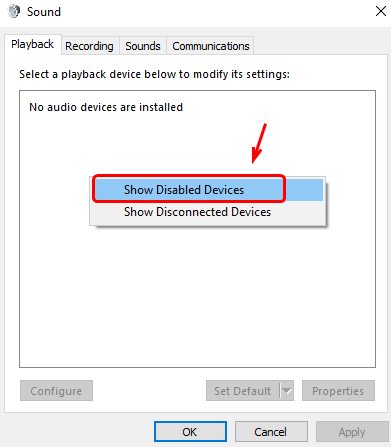 Audio Device is Disabled Issues on Windows 10 [Solved