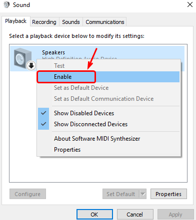 Audio Device is Disabled Issues on Windows 10 [Solved] - Driver Easy