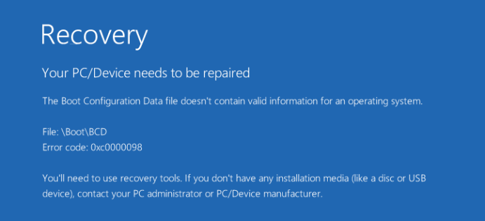 How to Fix Your PC/Device Needs to Be Repaired - Driver Easy
