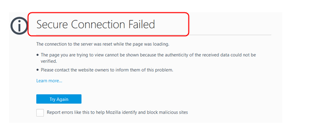 Secure connection failed - Newbie Corner - Manjaro Linux Forum