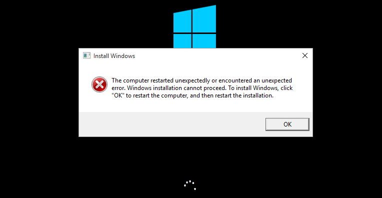 Solved: The computer restarted unexpectedly loop Windows 10