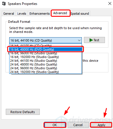 Sound Stuttering / Distortion Problem on Windows 10/7 [Solved