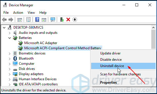 ACPI BATTERY DRIVERS FOR WINDOWS