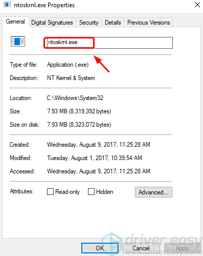 ntoskrnl exe High CPU or Disk Usage on Windows 10 [Solved