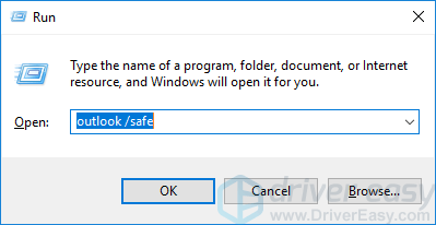 Outlook Not Working [SOLVED] - Driver Easy