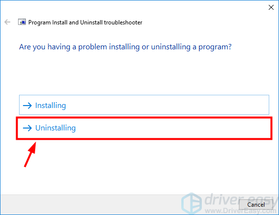 FIXED There Is a Problem with This Windows Installer Package - Driver Easy