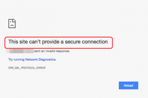 This Site Cant Provide A Secure Connection In Chrome - download roblox google sites