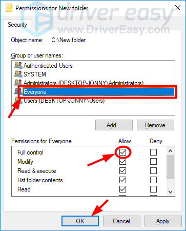You Don't Have Permission to Access [SOLVED] - Driver Easy