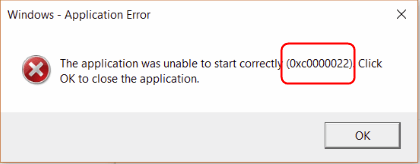 Solved] Adobe: The application was unable to start correctly