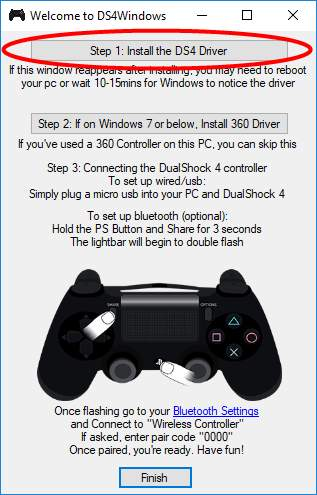 windows 7 usb game controller driver